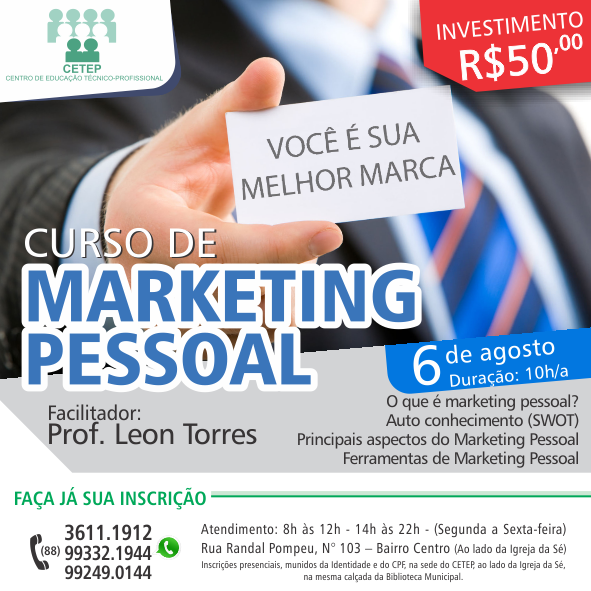 marketing pessoal - blog